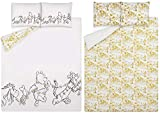 ASDA Disney Winnie the Pooh Bear Duvet Cover Set, Single, Double or King (Double)