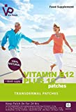 Vie Patch - VITAMIN B12 PLUS 10 - 6 Patches. No More Feeling Tired Or Sluggish. 100% Natural. 1 Month Supply