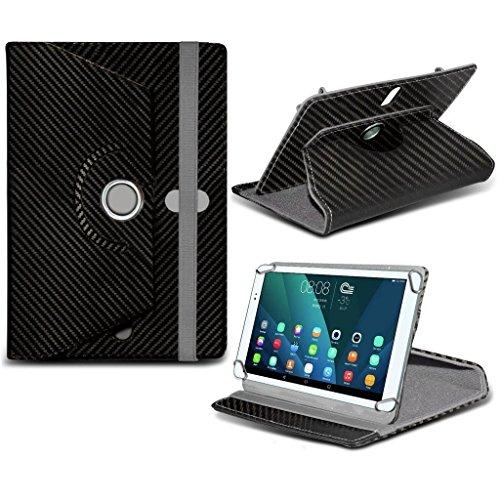 i-Tronixs Onda V919Air de 9. 7Pulgadas (Carbono Negro) Tablet Funda PC Universal Tablet Resistente sintético Piel sintética 360rotación Funda con 4Suspensión