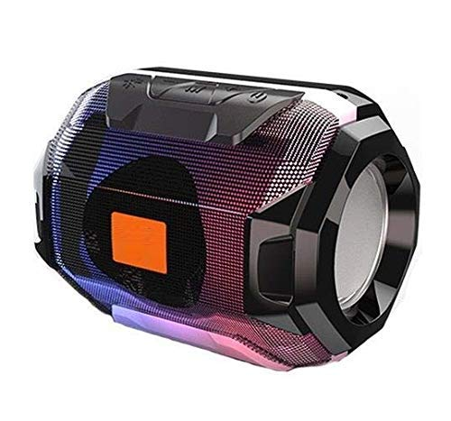 Aerizo LAS32 Mini Handheld Size Wireless Bluetooth Speaker with Stereo Sound Supported FM | SD Card Slot | AUX | Compatible with All Devices [Multi Color]