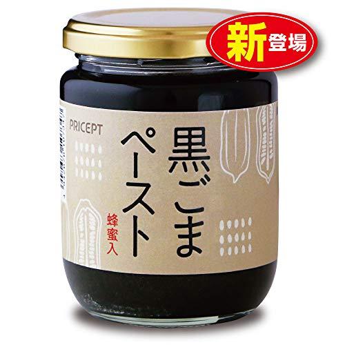 プリセプト 黒ごまペースト 蜂蜜入 230g はちみつ・加工黒糖使用 保存料・着色料無添加 製造:千金丹ケアーズ (単品)