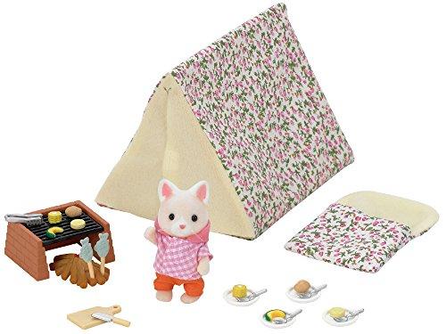 Sylvanian Families- Seaside Camping Set Mini muñecas y Accesorios, Multicolor (Epoch para Imaginar 5209)