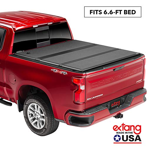 Extang Encore Hard Folding Truck Bed Tonneau Cover  | 62450 | Fits 2014-18, 2019 Legacy Chevy/GMC Silverado/Sierra 1500, 2014-18, 2500/3500HD - 2015-18, 2019 Silverado 1500 Legacy/Limited 6'6' Bed