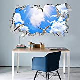 Vinilos decorativos 3D Sky Pigeon Fotomurales Vinilos decorativos