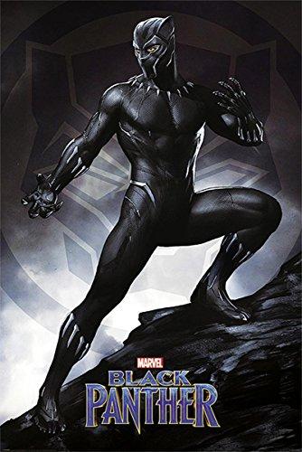 Close Up Poster Black Panther - Stance (61cm x 91,5cm)