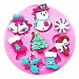 Stampo Fiocco Neve Campanelle Albero Natale Ghirlanda Calze Caramella Pancake Idea Regalo Natale Compleanno Festa