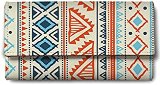 ShopMantra Vector Tribal Ethnic Pattern Ladies Wallet