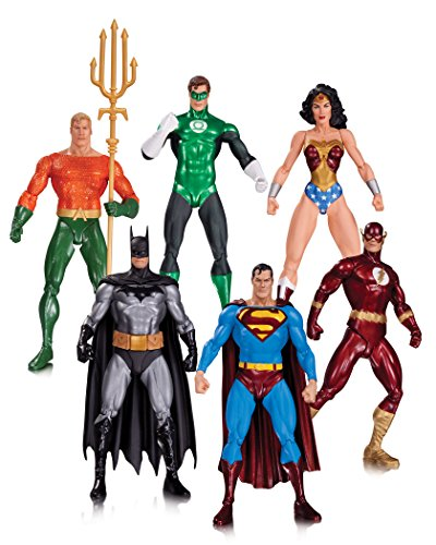 DC Direct - Justice League Alex Ross Pack Figurines, 761941334103