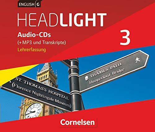 English G Headlight - Allgemeine Ausgabe - Band 3: 7. Schuljahr: Audio-CDs (Vollfassung) - Audio-Dateien auch als MP3