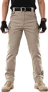 ReFire Gear Men's Tactical Cargo Trousers Cotton Outdoor Military Combat Work Pants