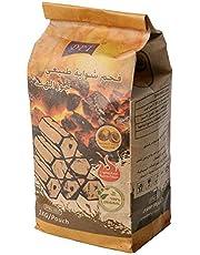 Natural coconut charcoal briquettes 1 kilo Indonesian packaging DPT