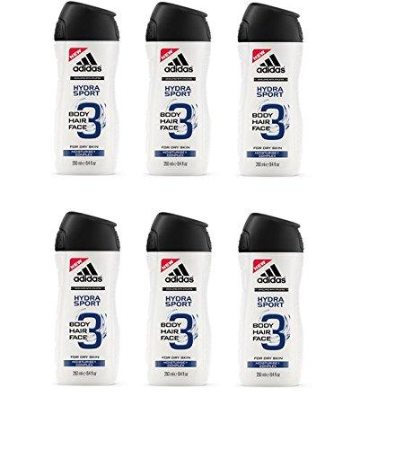 Adidas Duschgel 3in1 Hydra Sport 6 * 250ml