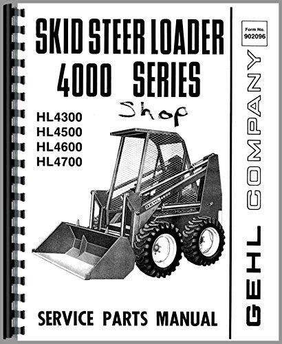 Gehl HL4600 Skid Steer Loader Manuel de pièces