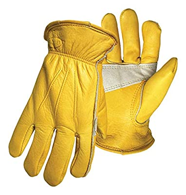 Boss Gloves Boss Therm Insulated Grain Leather with Palm Patch