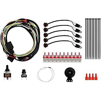 Easy Installation! SuperATV Deluxe Plug and Play Turn Signal Kit for Kawasaki Mule Pro FXT//DXT//DX//FX//FXR 2016+