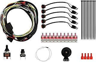 SuperATV Universal ATV/UTV Turn Signal Kit (with Toggle Turn Switch and Dash Mount Horn) - Plug and Play for Easy Installation! - Fits Honda, Polaris, Can-Am, Kawasaki, John Deere, Arctic Cat, More