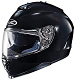 HJC 582-614 IS-17 Full-Face Motorcycle Helmet (Matte Black, Large)