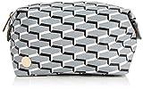 Mi-Pac Gold Wash Bag Neceser, 20 cm, 2.8 litros, Links Grey/Blk