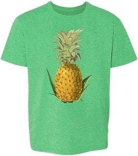 Pop Threads Pineapple Retro Toddler Kids Girl Boy T-Shirt