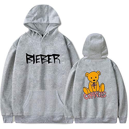 WAWNI Justin Bieber Hip hop 2D Nuove Felpe Con Cappuccio Uomini Donne Stampa Pullover Unisex Harajuku Tracksui 3 L
