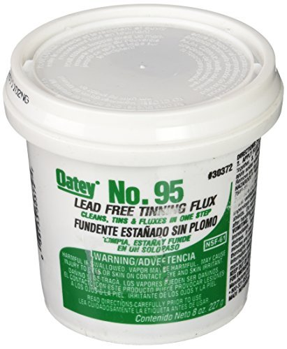 Oatey 30372 No. 95 Tinning Flux, Lead Free 8-Ounce by Oatey
