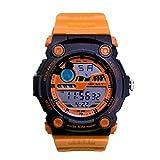 ディズニー ミッキーマウス ウォッチ ディズニー 腕時計 レディース キッズ メンズ WATCH Disney オレンジ×オレンジ ミッキー デジタル 時計 ラバーベルト ディズニー 腕時計 50M防水 ミッキー [並行輸入品]