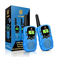 【Jouets pour enfants amusants et aventureux】Le talkie-walkie a un contact en temps réel, un système d'alarme intelligent, etc. Surtout quand les enfants jouent à l'extérieur, ils peuvent rester en contact avec leurs parents ou amis. Ce sera le meille...