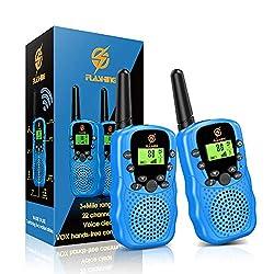 【Giocattoli per bambini divertenti e avventurosi】 Il walkie-talkie ha contatti in tempo reale, sistema di allarme intelligente, ecc. Soprattutto quando i bambini giocano all'aperto, possono rimanere in contatto con i loro genitori o amici. Questo sar...