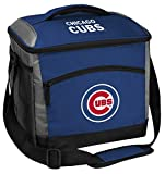 Rawlings MLB Soft Sided Insulated Cooler Bag, 24-Can Capacity, Chicago Cubs, Blue