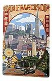 LEotiE SINCE 2004 Blechschild Metallschilder Wandschild