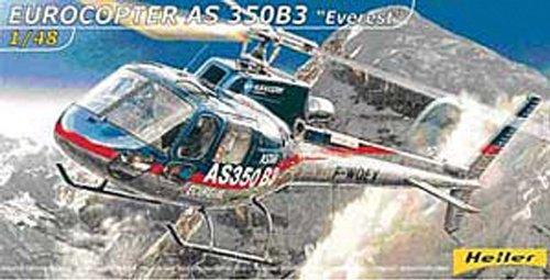 Heller 80488 - Modellino da Costruire, Eurocopter As350 B3 Everest, Scala 1:48 [Importato da Francia]