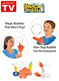 Mr. Gadget Solutions® High Quality and Improved Magic Bouncing Juggling Bubble Complete Kit...