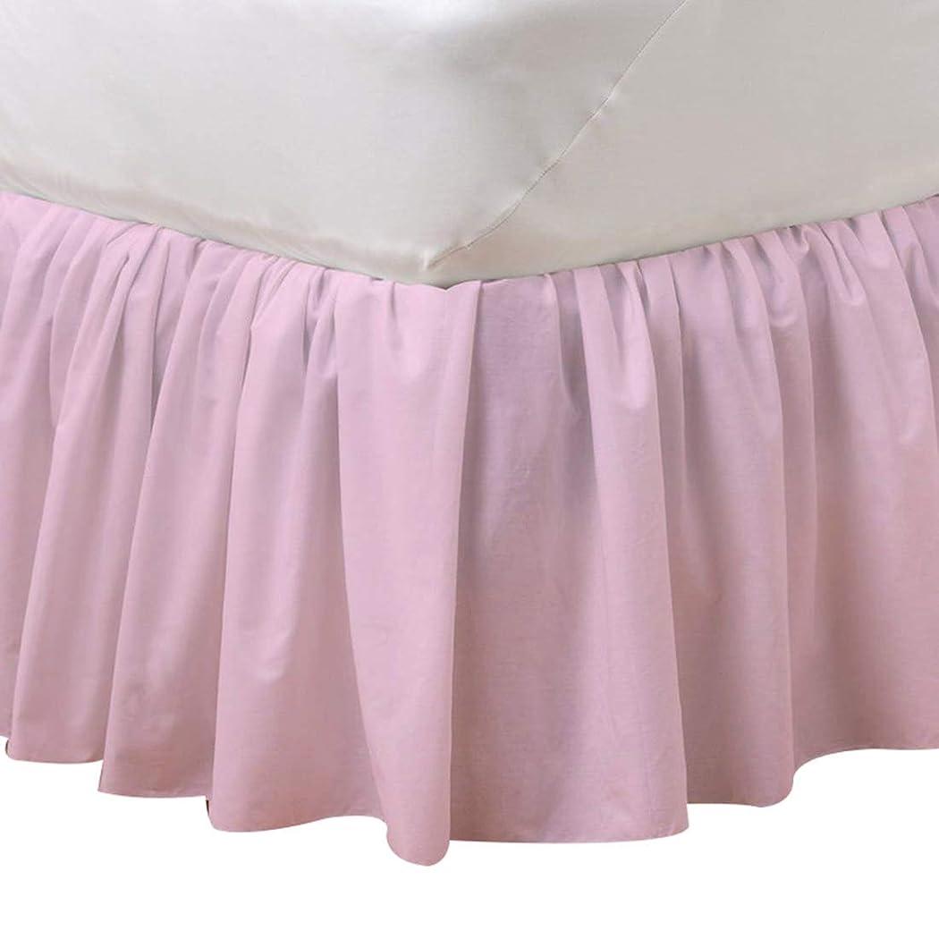 こどもの日原始的な名前Jiyaru ベッドスカート フリル ベッドシーツ 可愛い ダブル アンティーク シーツ ベッドカバー 伸縮 簡単フィット ホコリも防ぐ ベッド スカート おしゃれ 姫系 寝具 雰囲気アップ ゼミダブル クイーン キング