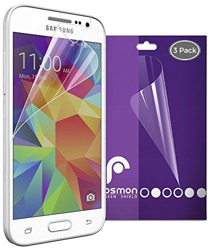 Fosmon Anti-Glare (Matte) Screen Protector Shield for Samsung Galaxy Core Prime - 3 Pack