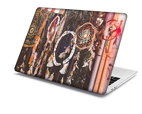 MacBook Pro 15 Case Model:A1707/A1990,QiuHuiCase Plastic Shell Cover Only Compatible 2018-2016 Release MacBook Pro 15' with Touch Bar Touch ID (Feather Series 2)