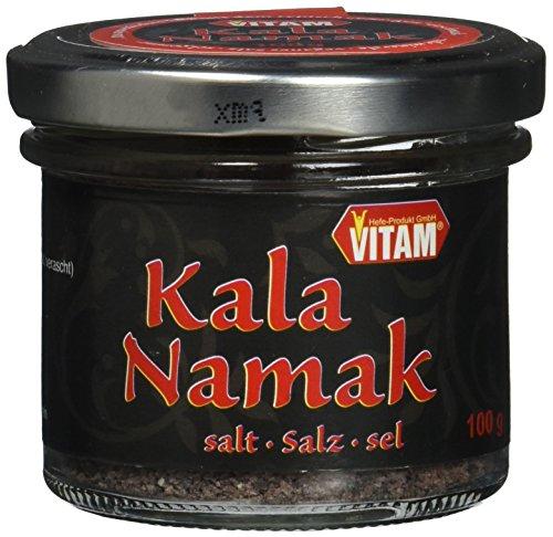 VITAM Kala Namak Schwefelsalz, 8er Pack (8 x 100 g)
