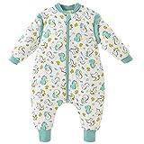 Happy Cherry Bebé Unisex - Saco de dormir para bebé (algodón, suave, cálido, mango extraíble), diseño de pijamas dinosaurio 2-3 Años