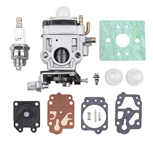 BLTR Carburador, Gasolina Cortasetos carburador Carb Kit de reparación CG430 CG520 43cc 52cc 47cc 49CC 40-5 44-5 2 Herramienta de Ajuste del carburador De Confianza