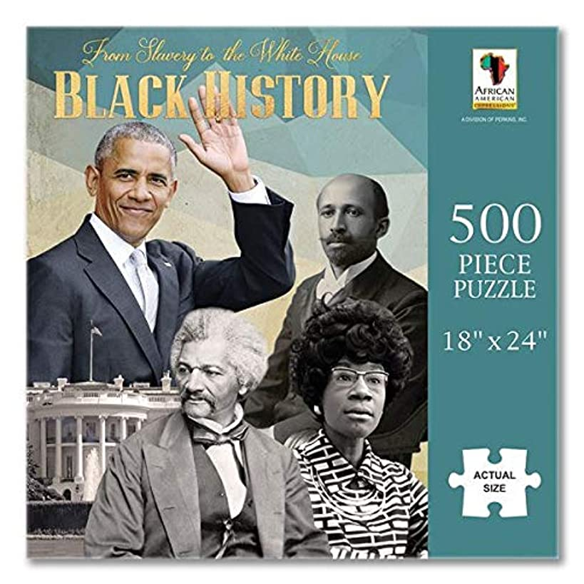African American Expressions - Black History White House Puzzle (500 Pieces, 18