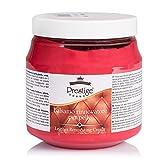 Prestige - Crema para renovar el color de sofás, zapatos, bolsos de piel, 300 ml Rojo Size: CREMA