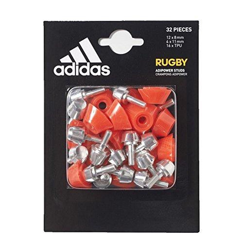 adidas Adipower - Pendientes de rugby de repuesto, color naranja