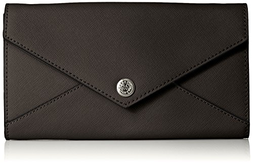 WALLET ON A CHAIN WITHOUT STUDS, BLACK