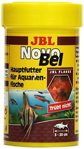 JBL NovoBel 30120 Alleinfutter für alle Aquarienfische, Flocken 100 ml