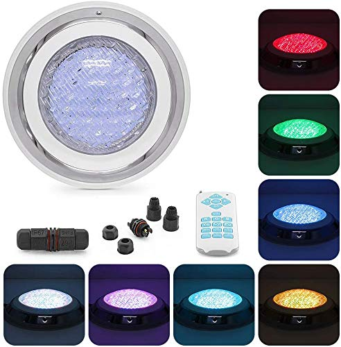 Tunez® LED Luz de Piscina de Acero Inoxidable Submarino Pool Light 45W...