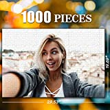 Custom Photo Jigsaw Puzzle for Adults 1000 Pieces - Personalized Photo Funny Gifts Custom Puzzles from Photos for Kids Mother's Day DIY Gift Stay at Home Wedding Gifts Family Love Friends