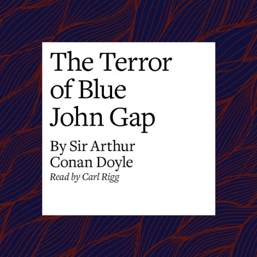 The Terror of Blue John Gap audiobook cover art