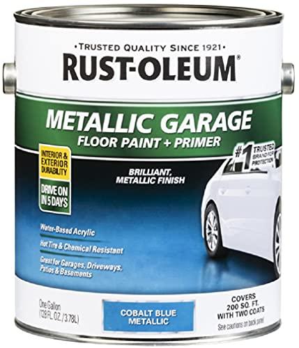 RUST-OLEUM 349354 Gallon Blue Concentrate Top Coat
