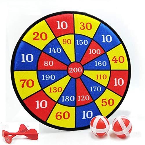 advancethy Juego de dardos para niños – 2 bolas adhesivas – Excelente juego para interiores y juegos de fiesta – Regalo seguro para niños