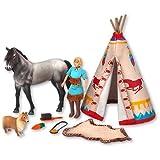 Revell GeeGee Friends & Wendy 27157 - Muñeco de Juguete con Animales y Accesorios, diseño de Indio...