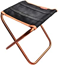 Light Folding Chair Mini Outdoor Folding Chair, Ultra Light Hiking Fishing Camping Chair Portable Seat Stool Storage Bag B...